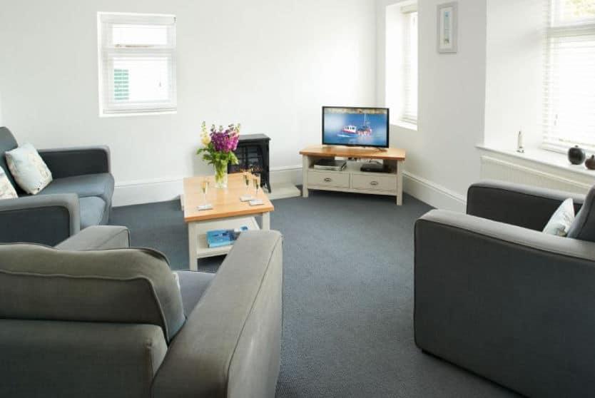 Brook Cottage Sitting Room, Trevose Head, Cornwall