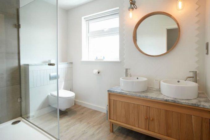 Stylish and modern bathroom
