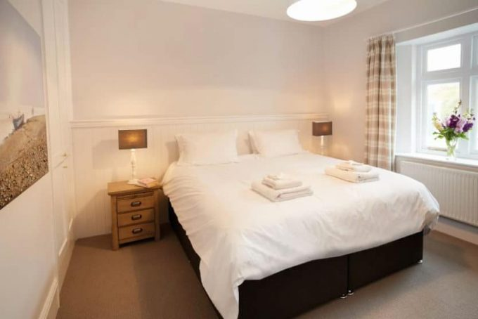 Large bedroom with super king bed