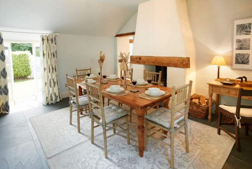 Mews Cottage Dining Room, Helston, Cornwall