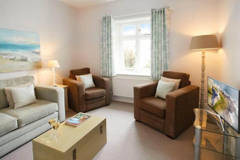 Verity Cottage Sitting Room, Trevose Head, Cornwall